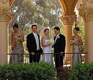 Balboa Park Wedding Party
