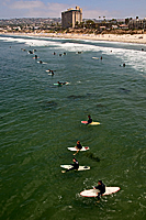 Pacific Beach Surfers