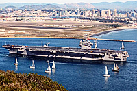 CVN Carl Vinson from Point Loma