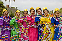 Mexican dancers in Old Town San Diego