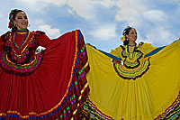 Mexican Dancers on San Diego Avenue